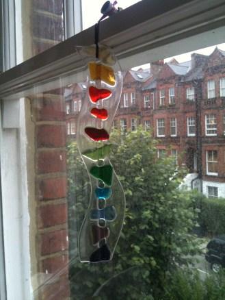 Jo Downs Glass hanging