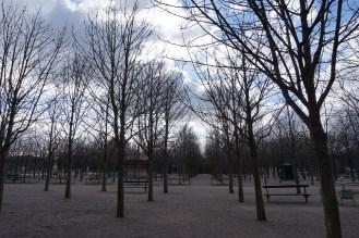 Jardin du Luxembourg in the Winter
