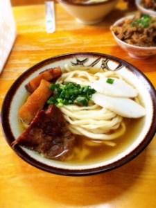 きしもと食堂 沖縄そば(大)