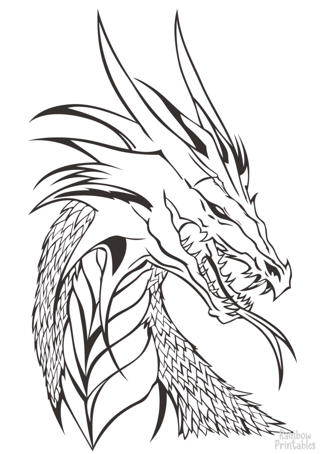 17 Wings of Fire Dragon Coloring Pages For Kids (Free Printable
