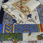Machine Block Print Bedcover or Table Cloth