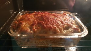 Seafood Baked Rice – in the oven