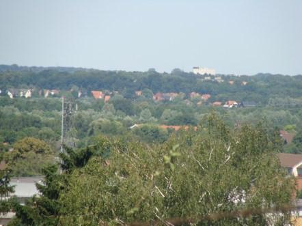 Blick vom Hügel aus...