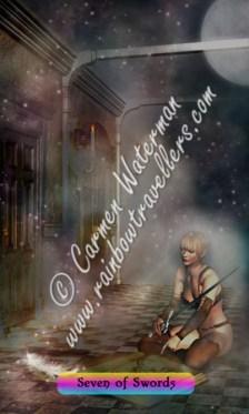© 2015 Carmen Waterman - Seven of Swords