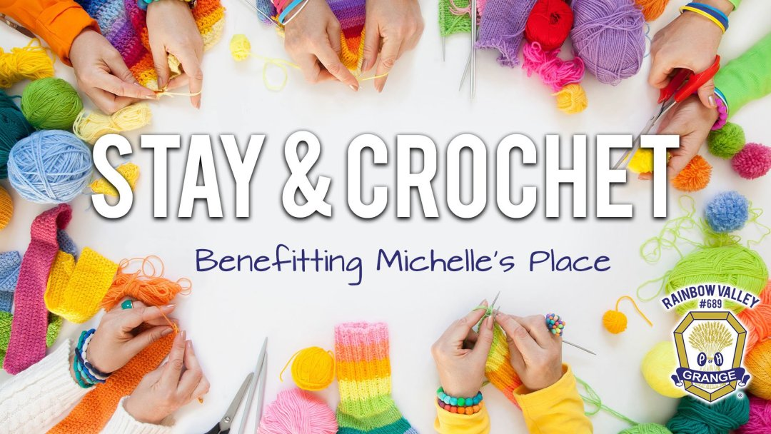 Stay & Crochet for Cancer
