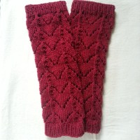 Lace Leg Warmers Pattern | Knit Tutorial