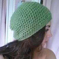 Slouchy Beanie | Easy Crochet Pattern