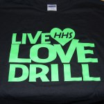Drill State front print t-shirt