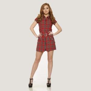 RED-TARTAN-ZIPPER-DRESS