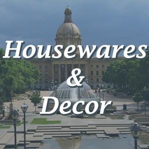 HOUSEWARES AND DÉCOR