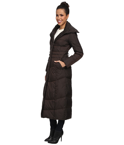 Cole Haan Essential Long Down women's Trench Oversized Convertible Collar