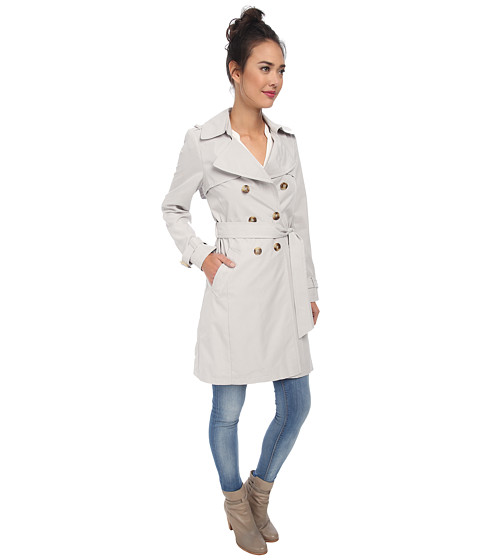 DKNY Double Breasted Soft Trench