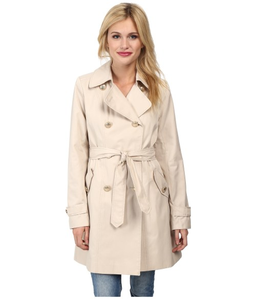 Vince Camuto Double Breasted Trench Coat