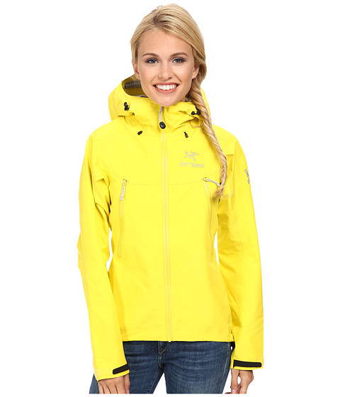Yellow raincoat womens