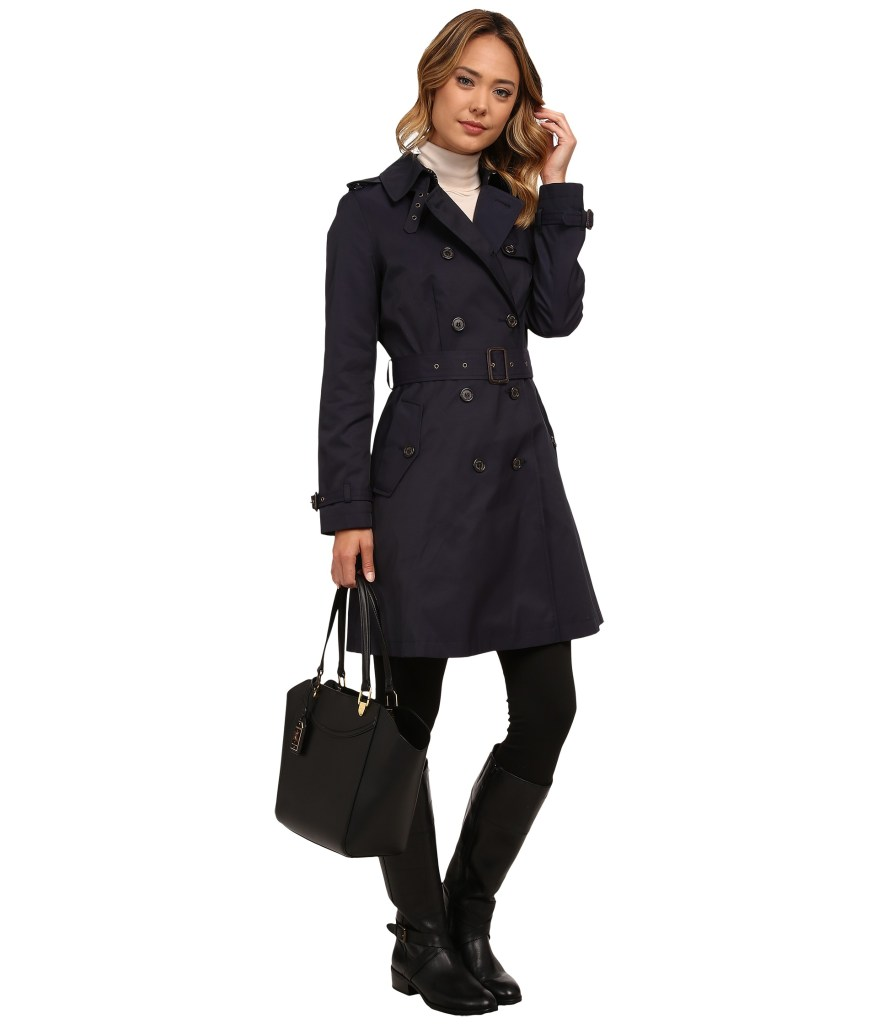 Skirted Ladies Trench Coat LAUREN by Ralph Lauren