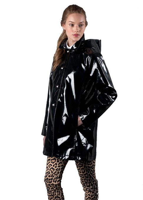 attractive & durable top-rated latest huge discount How To Pick Perfect Black Shiny Raincoat - Raincoat for Women