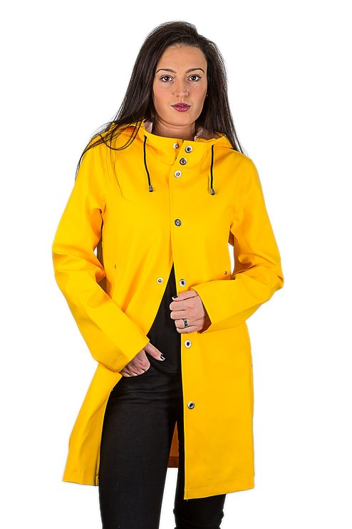 Womens Rain Coat: Handmade Fisherman Raincoat - Raincoat for Women