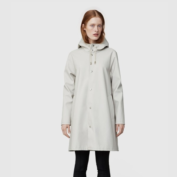 Stutterheim Light Sand Womens Raincoat
