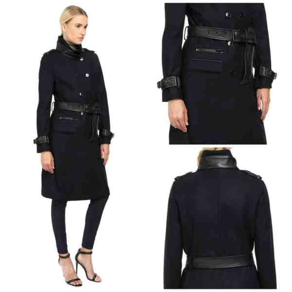 The Kooples Long Belted Trench Coat For Women