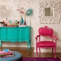 Inspire-se, color block decor