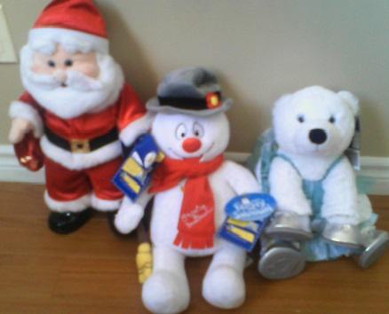 Build A Bear Santa Glasses
