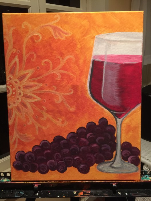 Final painting from paint night
