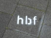 HBF. Die geheime Kunst. Sehr gut!
