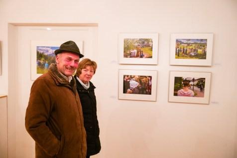 Mit Freude in der Ausstellung