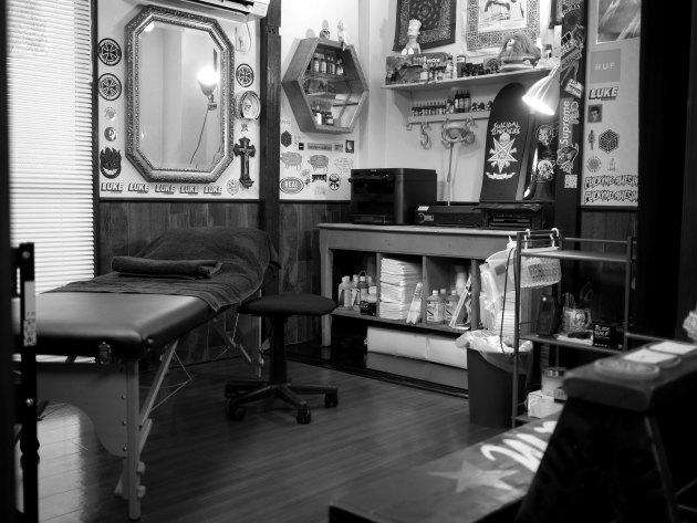 レインフォールタトゥー 東京 中目黒 タトゥースタジオ