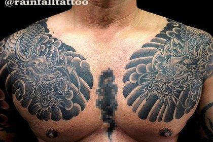 タトゥー 和彫り 龍