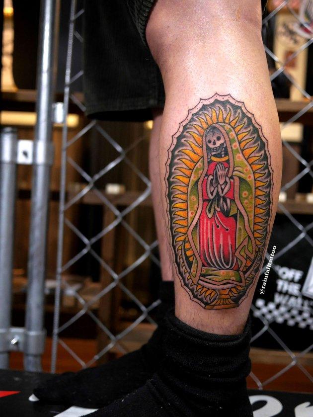 スカルマリアのトラディショナルタトゥー