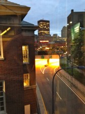 One of the many awesome views of Boston from the new building.