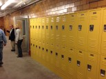 A nice change is that each student will have a locker to store and lock up personal items