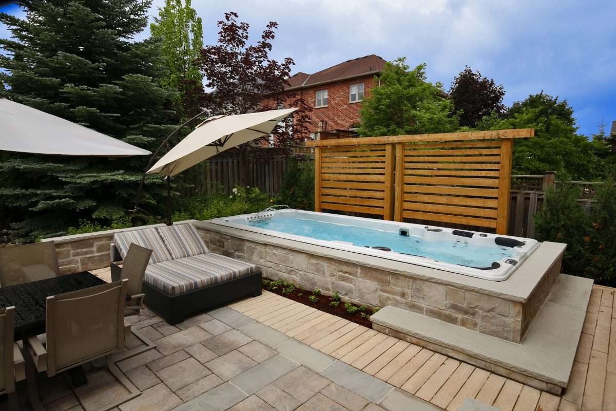Your Smart Guide to Buying a Swim Spa - Rainforest Outdoor ... on Outdoor Living Spa id=98036