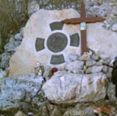 Monte Krizevak memorial Slavko.