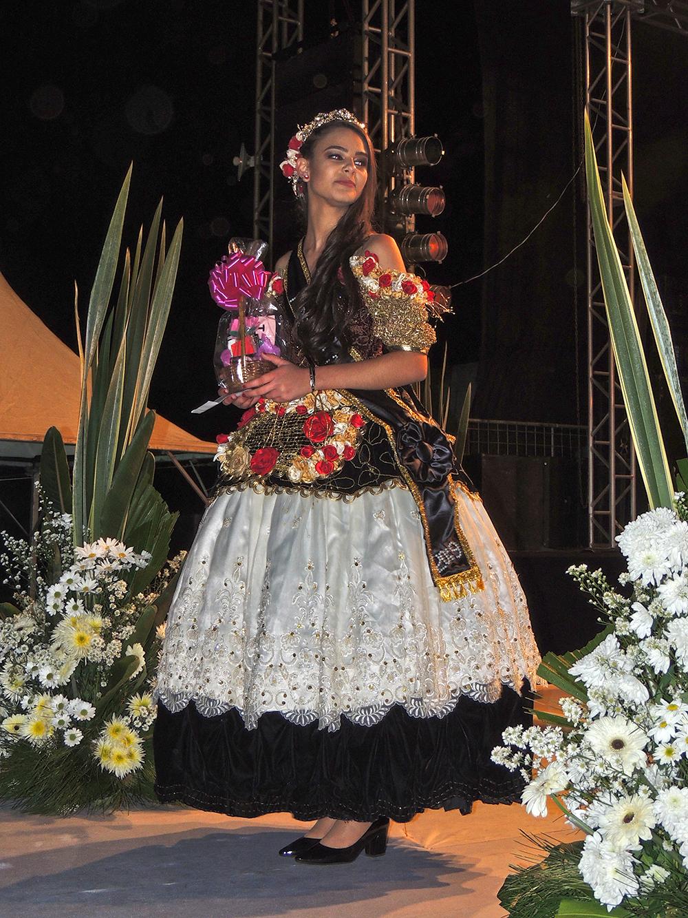 Rainha do 42º Festival de Carros de Boi de Ibertioga.