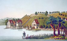 Meilen, ZH -- etching by Heinrich Brupbacher (1758-1835)