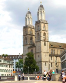 Grossmünster, Zürich -- photo of Stephen Taylor