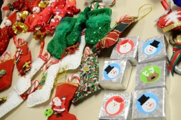 Christmas Gifts made by members on sale for Ellie's fundraiser