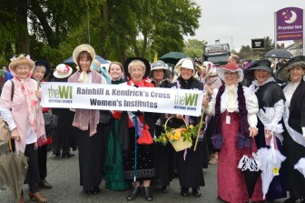 Rainhill WI & Kendrick's Cross WI join the parade!