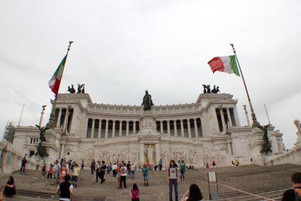 羅馬 | 維托里亞諾艾曼紐二世紀念館、義大利威尼斯廣場