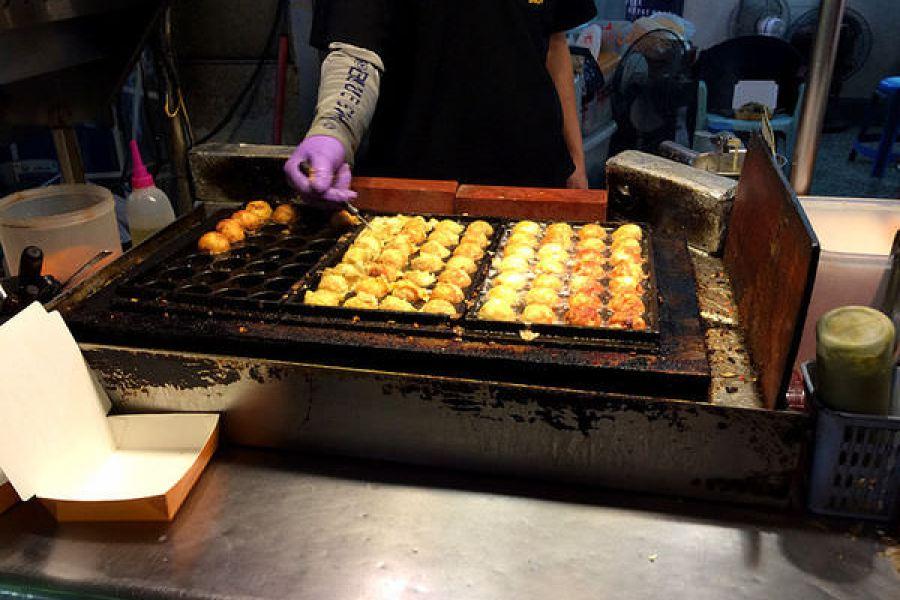 大饌章魚小丸子聯盟,高雄吉林夜市美食