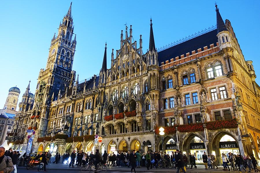 慕尼黑 Munich | 新市政廳 Neues Rathaus 全德最大木偶鐘