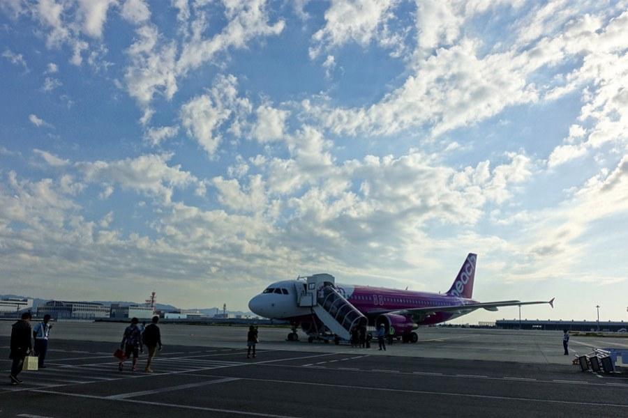 樂桃航空 Peach Aviation | MM22 台北TPE→大阪KIX 票價行李、飛行紀錄