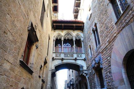 巴塞隆納 Barcelona | 主教橋  嘆息橋 - 建築師開啟的都市傳說