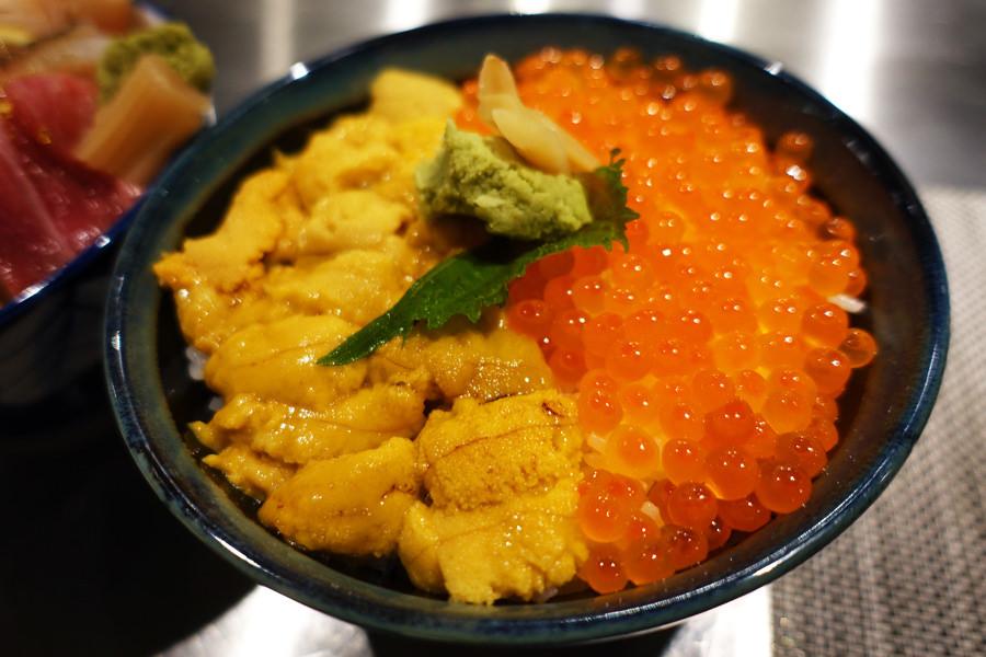 高雄三民 | 八十八丼 88 Donburi 銷魂海膽鮭魚卵雙色丼 x 超澎派海鮮丼飯