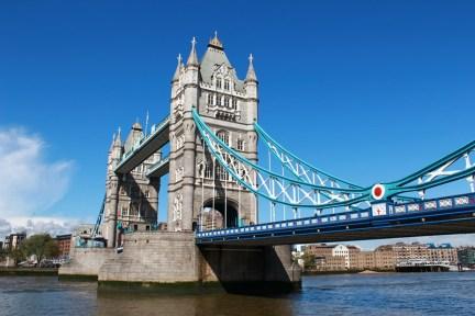 倫敦 London   倫敦塔橋 Tower Bridge 不會垮下來