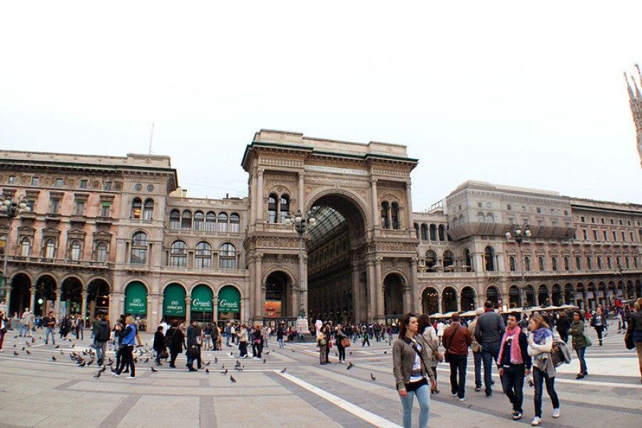 米蘭艾曼紐二世迴廊 Galleria Vittorio Emanuele II 世界最美!!