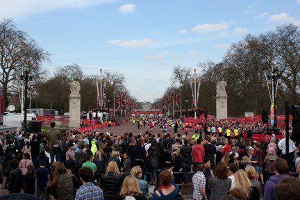 倫敦 London | 白金漢宮 Buckingham Palace - 巧遇 2013 馬拉松 World Marathon Majors