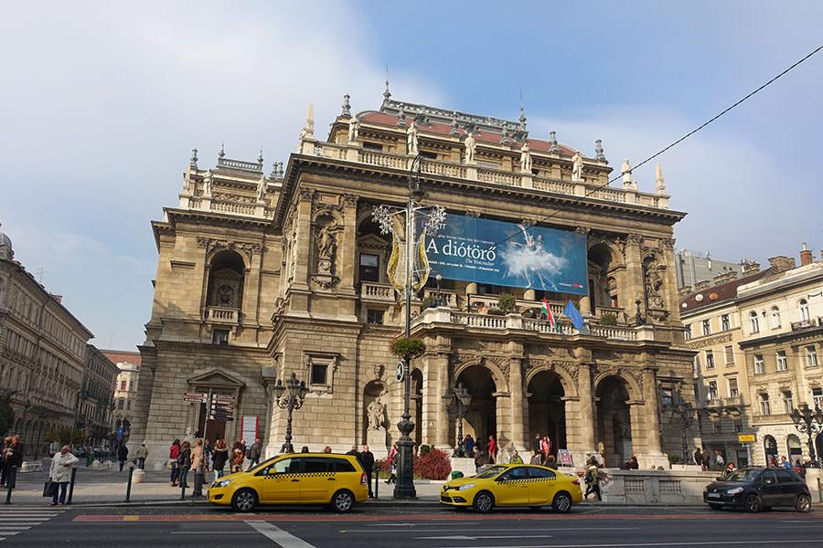 布達佩斯 | 匈牙利國家歌劇院 Magyar Állami Operaház